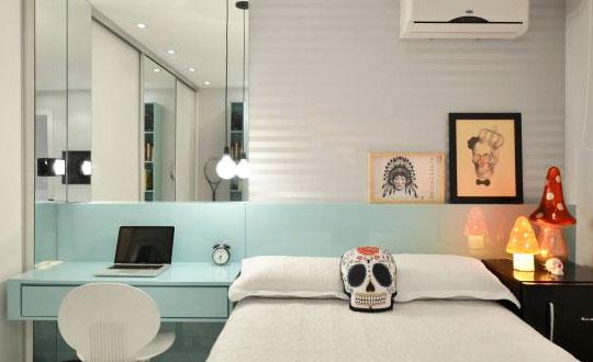 Ideias para quarto de solteiro: conforto e praticidade