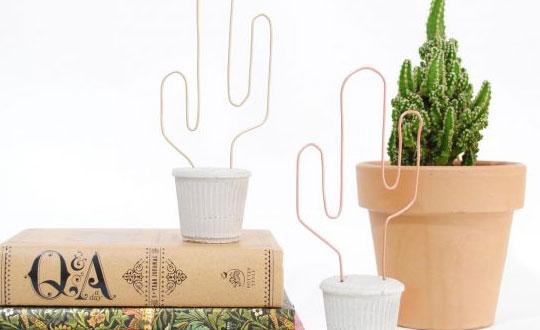 Boas ideias para usar arame na decoração