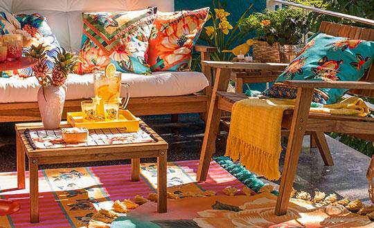 Novidade tropical para decoração: Tok&Stok e FARM lançam parceria inédita